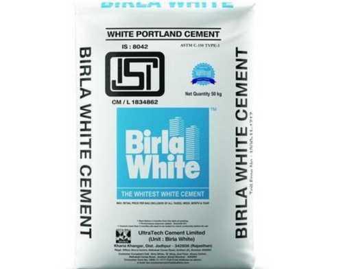 White Portland Cement for Building Construction