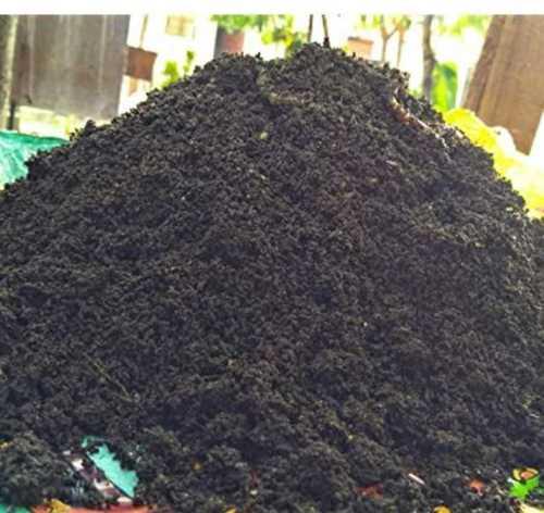 Black Vermi Compost Powder Fertilizer