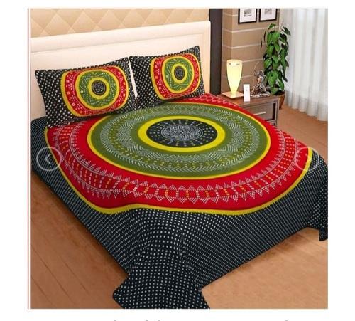 Fancy Cotton Printed Bedsheet King Size