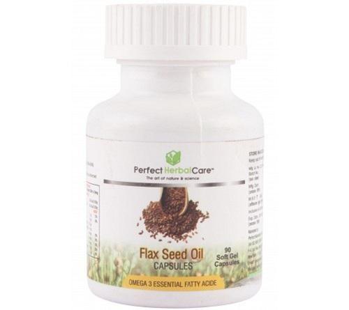 Herbal Cardiac Health Flax Seed Oil Capsule