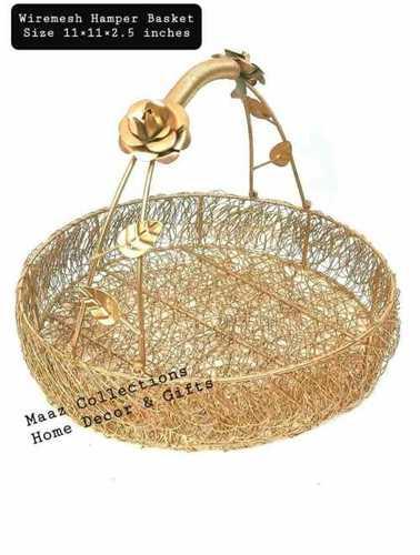 Attractive Design Wire Mesh Gift Hamper Basket