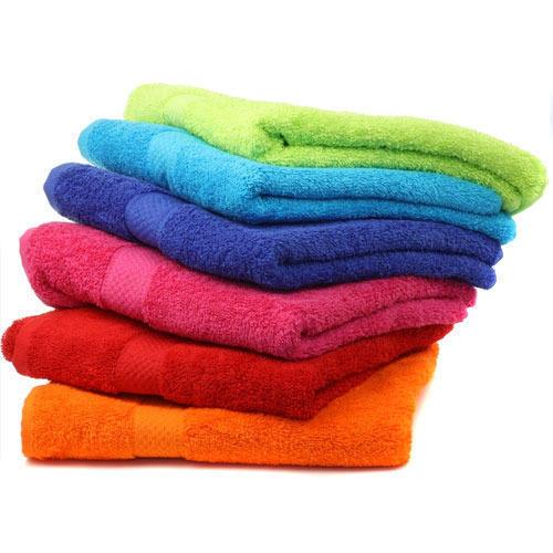 Easy Washable Quick Dry Plain Cotton Towel