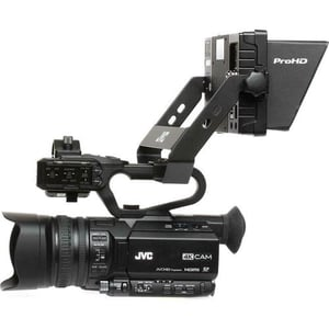 JVC GY-HM170 4KCAM Professional Camcorder with Integrated 12x Optical Zoom Lens