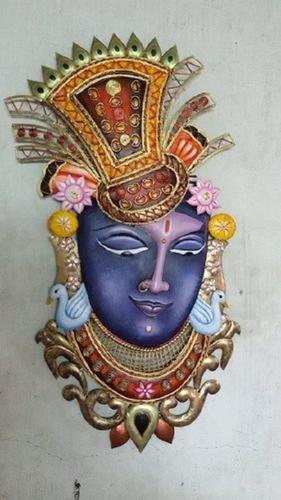 Shrinathji Krishna Face Wall Hanging