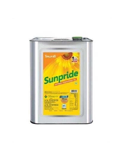 Tirupati Sunflower Cooking Oil 15Kg Pack