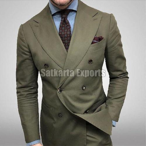 Mens Full Sleeves Regular Fit Two Piece Suit