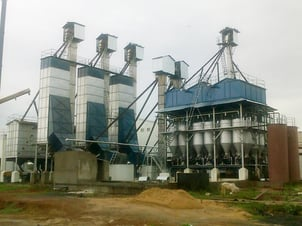 Paddy Rice Mill Parboiling Plant