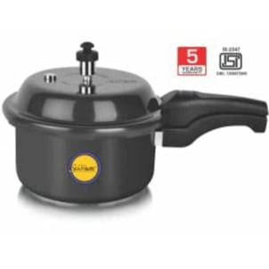 2 Liter Solitaire Hard Anodized Pressure Cooker