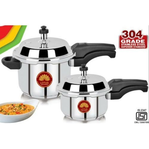 3 Ltr Stainless Steel Outer Lid Pressure Cooker