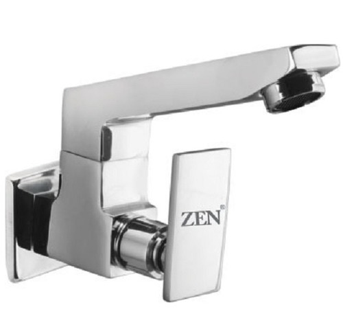 Brass Coated Wall Mounted Elegant Sink Cock