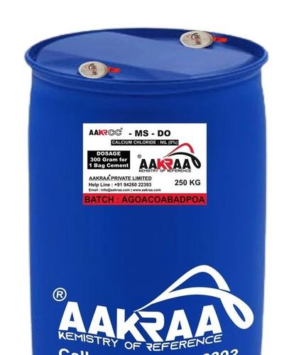 Premium Melamine Sulfonated Superplasticizer Aakraa Aakrcc Ms Do