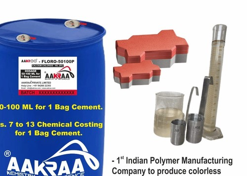 Premium Polycarboxylate Modified Superplasticizer Aakraa Aakrcc Floro 50100p