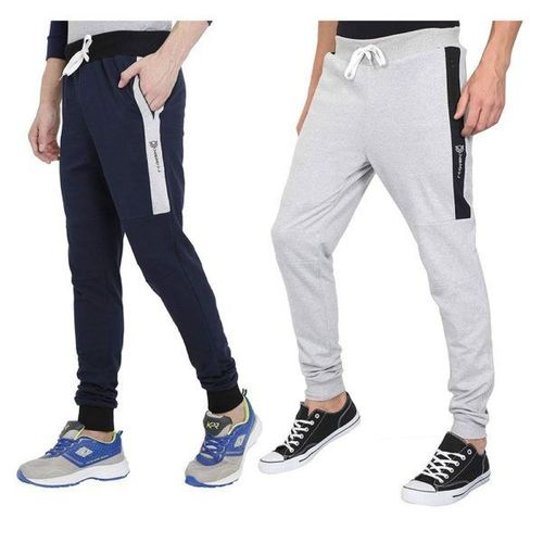 Mens Cotton Fabric Track Pants For Running