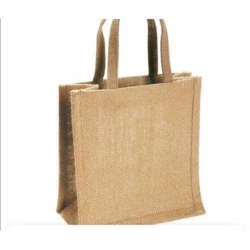 Tear Proof Brown Jute Grocery Bag