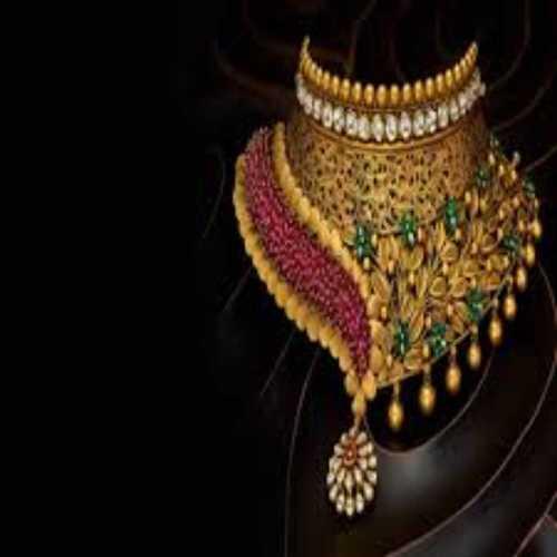 Heavy Work Imitation Fancy Designer Necklace Jewellery
