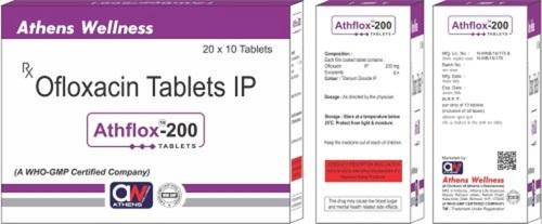 Ofloxacin 200 MG Antibiotic Tablets