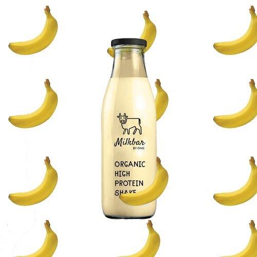 Fresh Banana Protein Milk Shake By Milkbar (350ml)