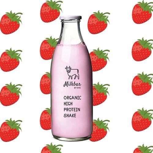Fresh Berries Protein Milk Shake By Milkbar (350ml)