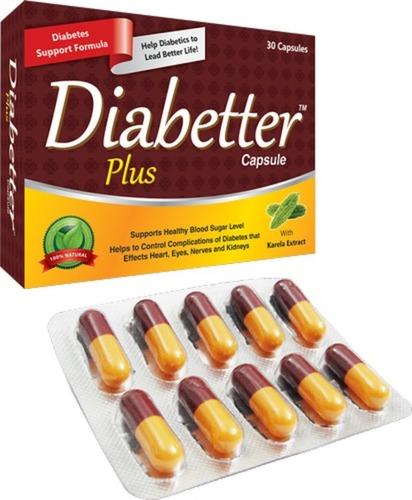 Herbal Diabetes Care Blood Sugar Control Capsules