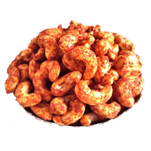 Made With Super Bold Pure Sorted Quality Pieces Delicious Spicy Flavored Masala Cashew Nuts