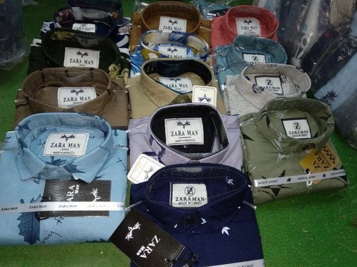 Party Wear Mens Cotton Shirts