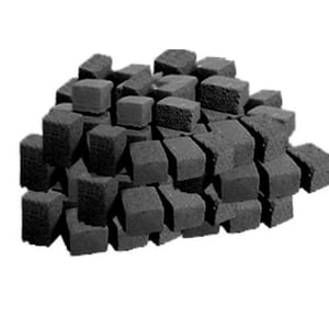 Completely Sourced From Natural Indian Coconut Shell Black Charcoal Multipurpose Briquettes