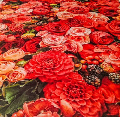 Floral Printed Tent Carpet