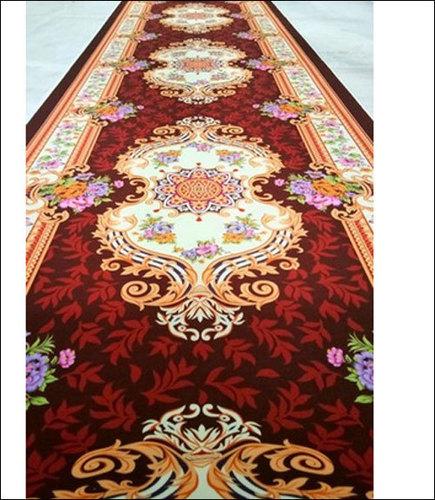 Rectangular Printed Designer Tent Carpet
