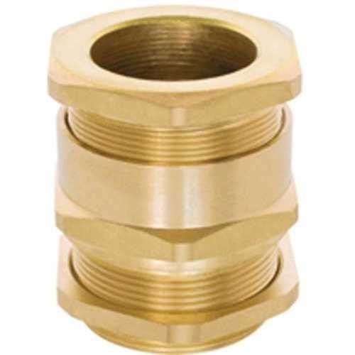 Golden Brass Cable Gland