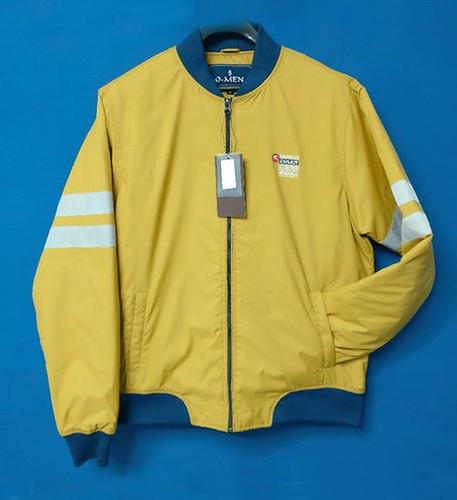 Lycra Rib Bomber Jacket