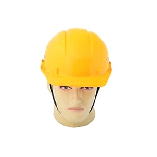 Yellow Plastic Construction Safety Helmet