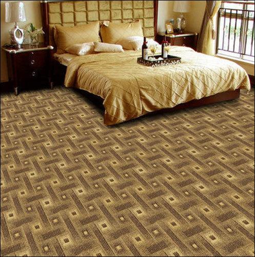 Decorative Bedroom Floor Carpet