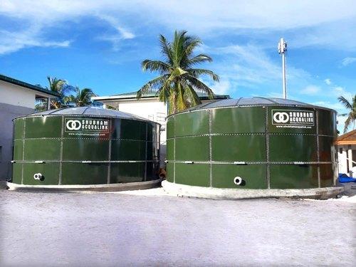 Glass Fused Steel Storage Tanks