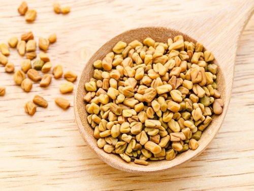 Protein 9.5% Fat 10.0% Fiber 18.5% Dried Natural Healthy Organic Fenugreek Seeds