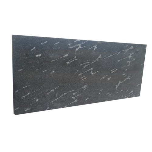 Fish Black Rajasthan Granite Stone Slab