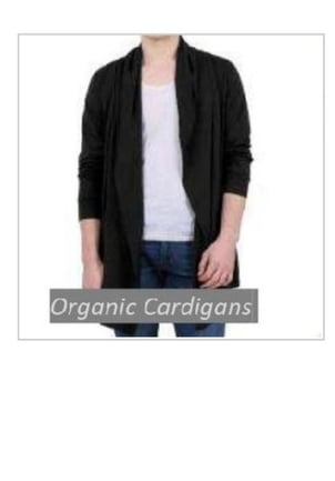 Stretchable Type Mens Fancy Cardigan
