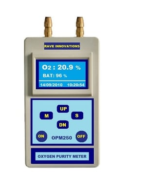 Battery Operated Oxygen Monitor