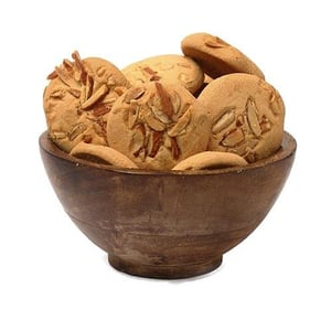 Pooja Special Almond Cookies 250 Gms