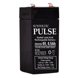 Sun Voltic Pulse Sealed Lead Acid Rechargeable Battery