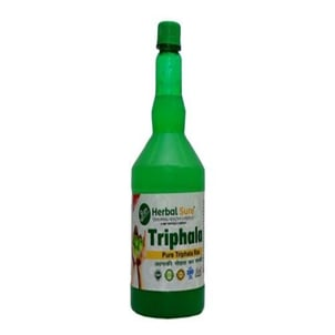 Naturally Treats Variety Of Bacterial And Fungal Infections Pure 1 L Herbal Sure Triphala Juice