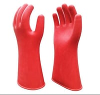 Red Color Premium Electrical Gloves