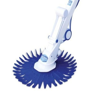 White  & Blue Shark Automatic Swimming Pool Cleaner