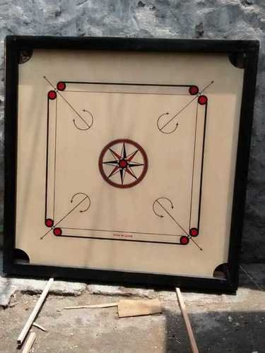 Wood Finished Carrom Board Designed For: All