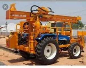 Easy To Operate Bore Well Drilling Machine