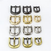 Gold Silver Bronze Black Square Alloy Metal Shoes Bags Belt Buckles