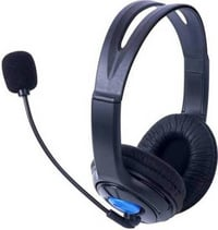 LAPCARE LWS-004 Wired Sterio Headset For PC With Mic Wired Gaming HeadsetA A (Black, On the Ear