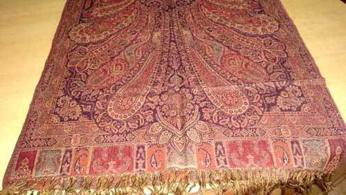 Designer Embroidered Shawls