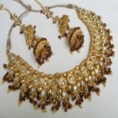 Appealing Look Gold Necklace Set
