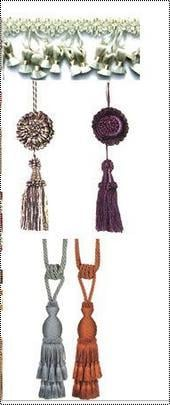 Competitive Price Fancy Curtain Tassels