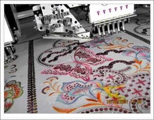 Multi Sequins Embroidery Machine